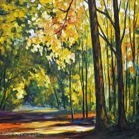 【印刷级】YHR190949194-李奥尼德阿夫列莫夫Leonid Afremov白俄罗斯现代印象派艺术家绘画作品集油画作品高清图片-43M-4484X3380