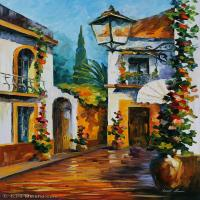 【打印级】YHR190949177-李奥尼德阿夫列莫夫Leonid Afremov白俄罗斯现代印象派艺术家绘画作品集油画作品高清图片-26M-2456X3696