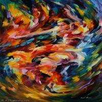 【打印级】YHR190949081-李奥尼德阿夫列莫夫Leonid Afremov白俄罗斯现代印象派艺术家绘画作品集油画作品高清图片-21M-2008X3672