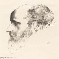 【欣赏级】SMR181514013-维亚尔爱德华Edouard Vuillard法国纳比派代表画家高清那比派绘画作品素描手稿底稿图片资料-19M-2295X3000
