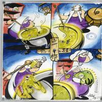 【印刷级】MH-10120001-漫画设计美院设计作品高分试卷高清图片-93M-4800X6832