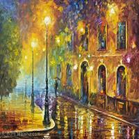 【印刷级】YHR190949202-李奥尼德阿夫列莫夫Leonid Afremov白俄罗斯现代印象派艺术家绘画作品集油画作品高清图片-47M-4809X3463