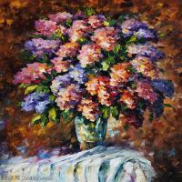 【印刷级】YHR190949204-李奥尼德阿夫列莫夫Leonid Afremov白俄罗斯现代印象派艺术家绘画作品集油画作品高清图片-49M-3600X4765
