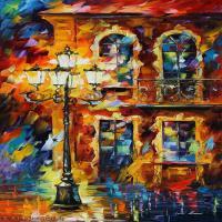 【打印级】YHR190949086-李奥尼德阿夫列莫夫Leonid Afremov白俄罗斯现代印象派艺术家绘画作品集油画作品高清图片-21M-2024X3672