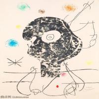 【欣赏级】YHR181417065-二十世纪绘画大师西班牙超现实主义画家米罗Joan Miro绘画作品高清图片抽象画作品集-Emehpylop-17M-2086X3000