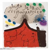【欣赏级】YHR181417069-二十世纪绘画大师西班牙超现实主义画家米罗Joan Miro绘画作品高清图片抽象画作品集-Miró Lithographe Vol IVI 19301981-18M-