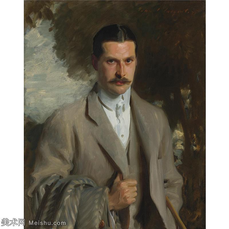 【欣赏级】YHR190848044-约翰萨金特John Singer Sargent美国肖像画家水彩画家绘画作品集萨金特