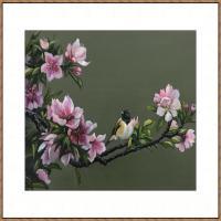 曾紅捷油畫花卉系列(2019年)(7)