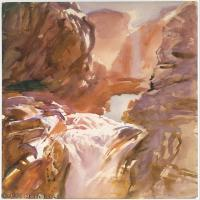 【打印级】SCR190845085-约翰萨金特John Singer Sargent美国肖像画家水彩画家绘画作品集萨金特水彩作品