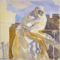 【打印级】SCR190845071-约翰萨金特John Singer Sargent美国肖像画家水彩画家绘画作品集萨金特水彩作品