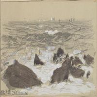 【打印级】SCR190845080-约翰萨金特John Singer Sargent美国肖像画家水彩画家绘画作品集萨金特水彩作品