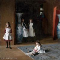 【欣赏级】YHR190848047-约翰萨金特John Singer Sargent美国肖像画家水彩画家绘画作品集萨金特油画作品