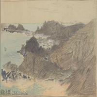【打印级】SCR190845072-约翰萨金特John Singer Sargent美国肖像画家水彩画家绘画作品集萨金特水彩作品