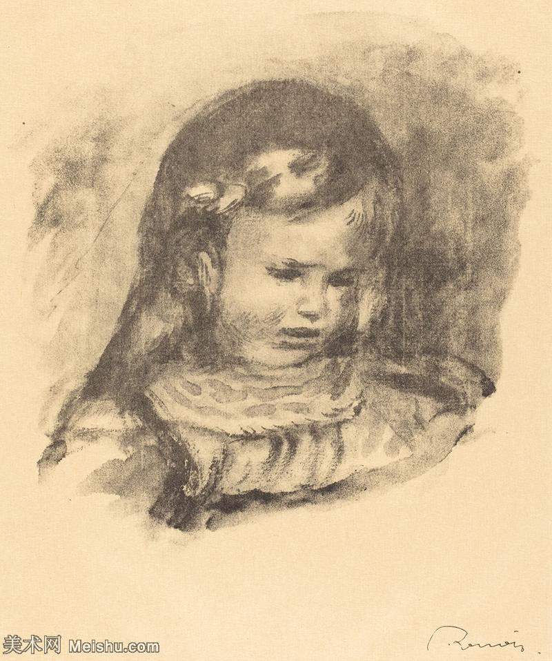 【打印级】SMR19154650-皮埃尔奥古斯特雷诺阿Pierre Auguste Renoir法国印象派重要画家雷诺阿