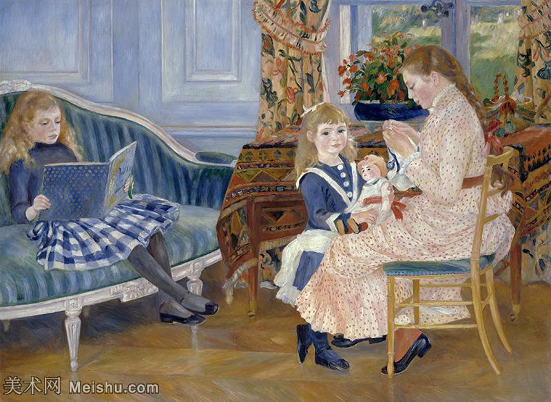【打印级】YHR191548350-皮埃尔奥古斯特雷诺阿Pierre Auguste Renoir法国印象派重要画家雷诺