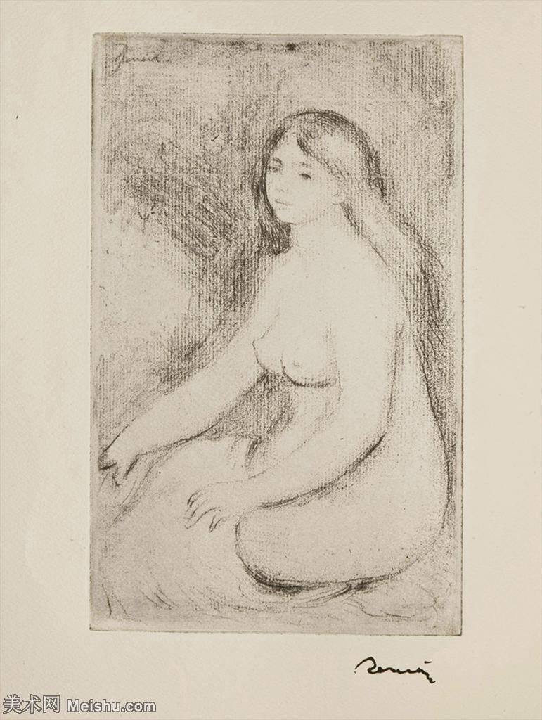 【打印级】SMR19154653-皮埃尔奥古斯特雷诺阿Pierre Auguste Renoir法国印象派重要画家雷诺阿