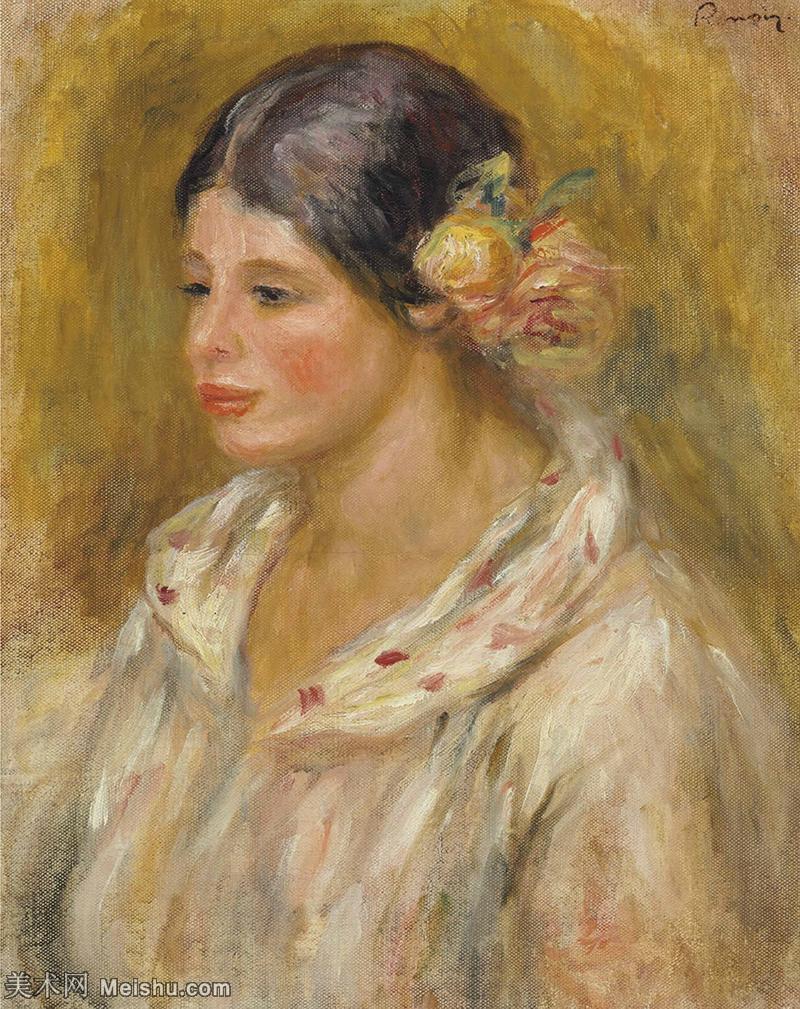 【打印级】YHR191548325-皮埃尔奥古斯特雷诺阿Pierre Auguste Renoir法国印象派重要画家雷诺