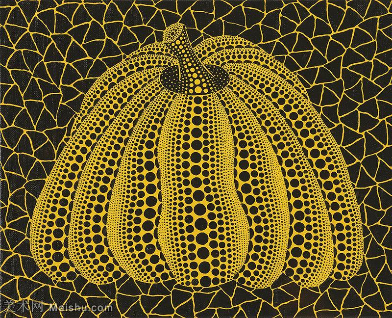 【欣赏级】YHR191319060-草间弥生Yayoi Kusama表现主义日本画家草间弥生绘画作品集-1999PUMP