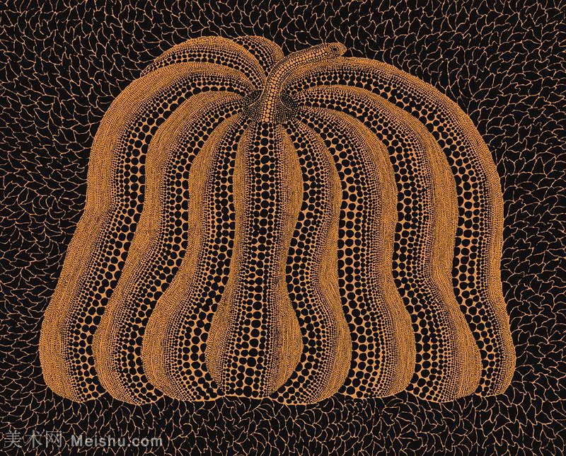 【欣赏级】YHR191319059-草间弥生Yayoi Kusama表现主义日本画家草间弥生绘画作品集-PUMPKIN.