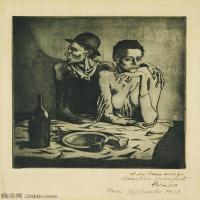 【印刷级】YHR181125185-西班牙画家巴勃罗毕加索PabloPicasso现代派绘画作品高清图片抽象油画高清图片印象派油画-81M-4500X6341