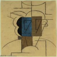 【印刷级】YHR181125177-西班牙画家巴勃罗毕加索PabloPicasso现代派绘画作品高清图片抽象油画高清图片印象派油画-76M-4500X5926