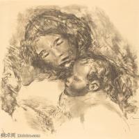【打印级】SMR19154657-皮埃尔奥古斯特雷诺阿Pierre Auguste Renoir法国印象派重要画家雷诺阿印象派素描作品集Maternity-23M-2751X3000