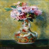 【超顶级】YHR191548461-皮埃尔奥古斯特雷诺阿Pierre Auguste Renoir法国印象派重要画家雷诺阿印象派油画作品集Renoir,PierreAugusteBouquetinaV