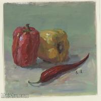 【打印级】SF-10120418-水粉静物名师示范临摹绘画高清图片蔬菜水果下载高清图片-24M-2818X2292