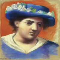 【印刷级】YHR181125176-西班牙画家巴勃罗毕加索PabloPicasso现代派绘画作品高清图片抽象油画高清图片印象派油画-76M-4500X5919