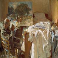 【印刷级】SCR190845144-约翰萨金特John Singer Sargent美国肖像画家水彩画家绘画作品集萨金特水彩作品
