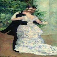 【超顶级】YHR191548467-皮埃尔奥古斯特雷诺阿Pierre Auguste Renoir法国印象派重要画家雷诺阿印象派油画作品集Dancer2-195M-5735X11886