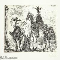 【打印级】SMR181128106-西班牙画家巴勃罗毕加索Pablo Picasso现代派素描毕加索手稿高清图片毕加索素描作品-21M-3200X2311
