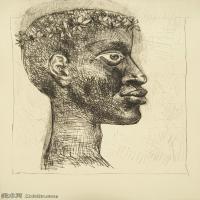 【打印级】SMR181128110-西班牙画家巴勃罗毕加索Pablo Picasso现代派素描毕加索手稿高清图片毕加索素描作品-21M-2333X3207