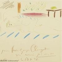 【打印级】SMR181128116-西班牙画家巴勃罗毕加索Pablo Picasso现代派素描毕加索手稿高清图片毕加索素描作品-21M-2381X3203