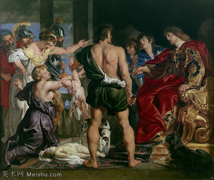 【欣赏级】YHR191105282-彼得保罗鲁本斯Peter Paul Rubens德国巴洛克画派画家古典油画人物高清图
