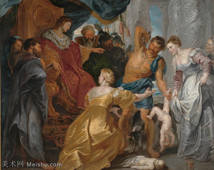 【超顶级】YHR191105721-彼得保罗鲁本斯Peter Paul Rubens德国巴洛克画派画家古典油画人物高清图
