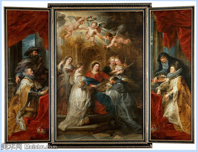 【超顶级】YHR191105719-彼得保罗鲁本斯Peter Paul Rubens德国巴洛克画派画家古典油画人物高清图