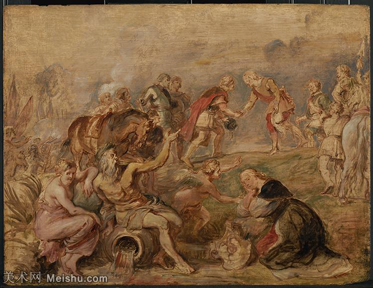 【超顶级】YHR191105726-彼得保罗鲁本斯Peter Paul Rubens德国巴洛克画派画家古典油画人物高清图