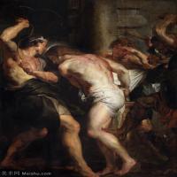 【超頂級】YHR191105717-彼得保羅魯本斯Peter Paul Rubens德國巴洛克畫派畫家古典油畫人物高清圖片宗教油畫高清大圖-101M-5126X6893