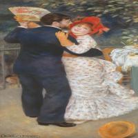 【印刷级】YHR191548459-皮埃尔奥古斯特雷诺阿Pierre Auguste Renoir法国印象派重要画家雷诺阿印象派油画作品集Dancer1-95M-3488X7181