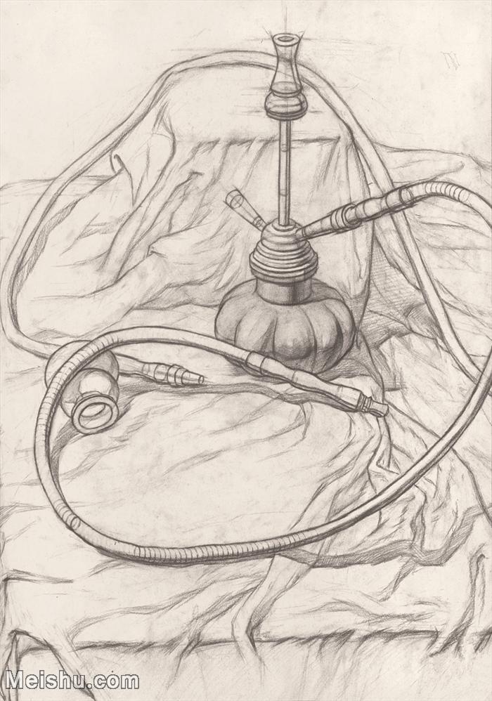 【印刷级】SM-10122844-素描静物美考优秀试卷艺考高分卷铅笔画美术生作品图片下载-95M-4192X5974.j