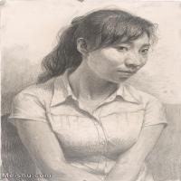 【超顶级】SM-10122700-素描半身艺考美考高分素描半身作品高清图片下载男青年女青年老年人专辑-145M-6126X8304