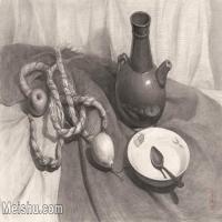 【超顶级】SM-10122993-素描静物美考优秀试卷艺考高分卷铅笔画美术生作品图片下载-395M-8938X6142