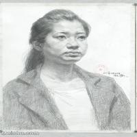 【印刷级】SM-10122559-素描半身艺考美考高分素描半身作品高清图片下载男青年女青年老年人专辑-98M-4821X7108
