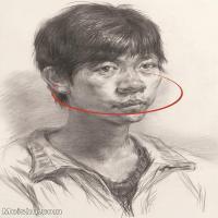 【印刷级】SM-10123146-素描头像美术高考素描优秀试卷八大美院男青年女青年高清图片-170M-4477X6202