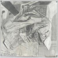 【超顶级】SM-10122903-素描静物美考优秀试卷艺考高分卷铅笔画美术生作品图片下载-131M-8027X5726