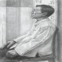 【超顶级】SM-10122654-素描半身艺考美考高分素描半身作品高清图片下载男青年女青年老年人专辑-228M-7325X10914