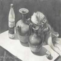 【超顶级】SM-10122984-素描静物美考优秀试卷艺考高分卷铅笔画美术生作品图片下载-154M-8952X6032
