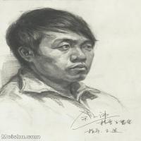 【印刷级】SM-10123139-素描头像美术高考素描优秀试卷八大美院男青年女青年高清图片-86M-4683X6448