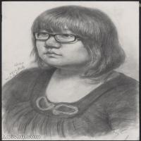 【超頂級】SM-10122608-素描半身藝考美考高分素描半身作品高清圖片下載男青年女青年老年人專輯-148M-6144X8423